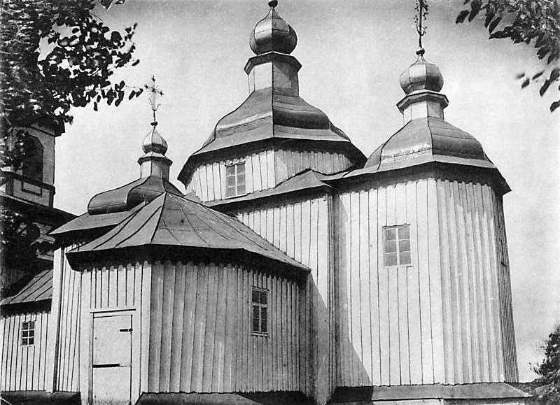 Петропавловская церковь в м. Чуднове Житомирского уезда Волынской губ.