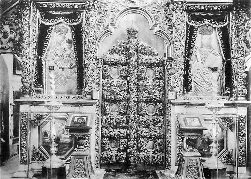 Иконостас Троицкой церкви в м. Полонном Новоградволынского уезда Волынской губ.