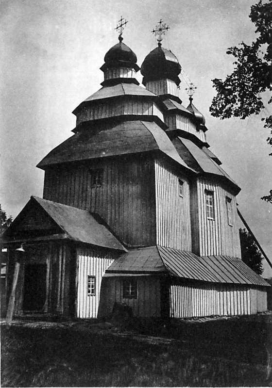 Троицкая церковь в м. Полонном Новоградволынского уезда Волынской губ.