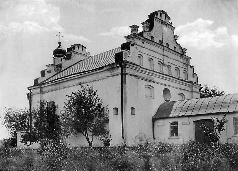 Ильинская церковь в с. Субботове Чигиринского уезда Киевской губ. Вид с северо-запада