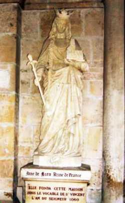 Анна Київська – королева Франції