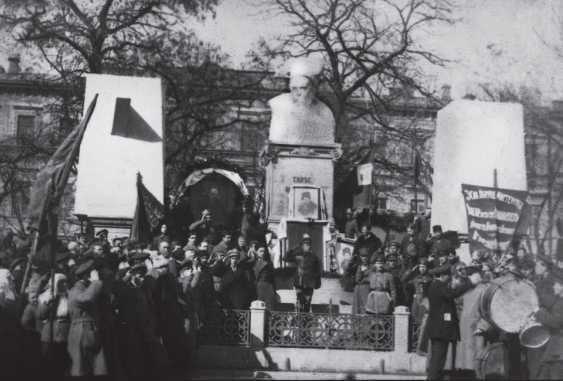 1919 р. Відкриття пам'ятника Т. Шевченку