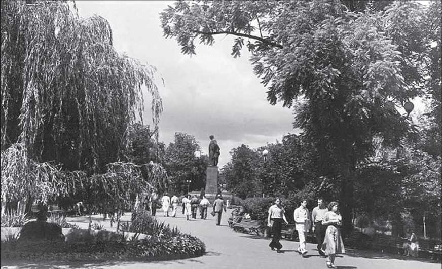 1950-і рр. Загальний вигляд з позиції C2