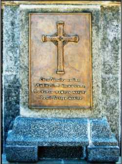 Таблиця 2011 р. на пам'ятнику могили Т. Шевченка. Сучасне фото.