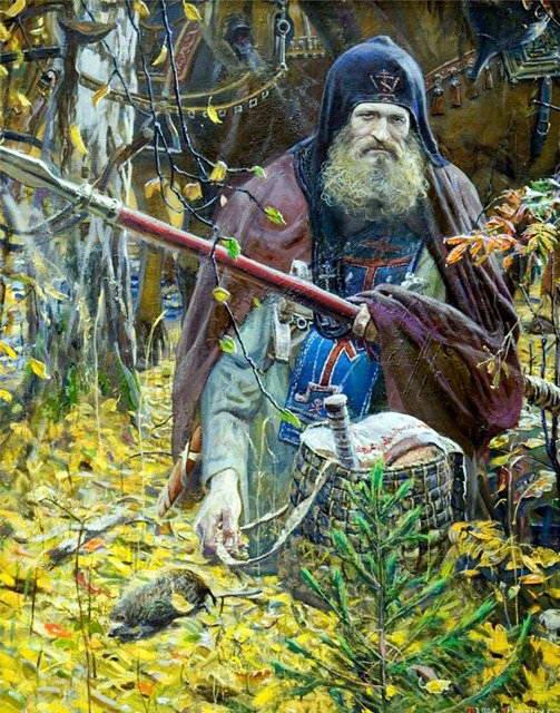 Kiev Orthodox monk