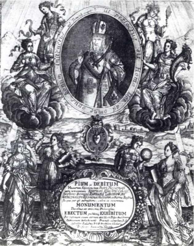 Р. Заборовський і алегорії