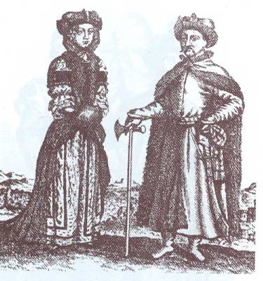 Polish noble couple