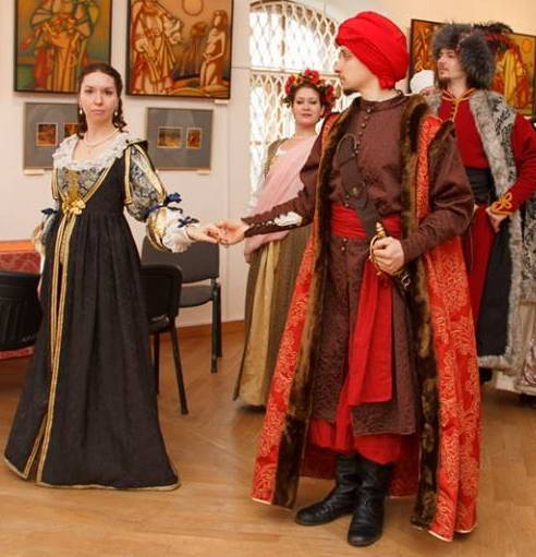 Костюм шляхты XVII в. реконструкция