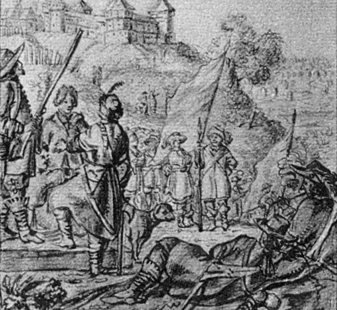 Soldiers of J. Radziwill