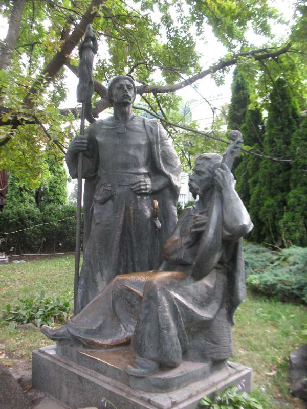Sculpture of Cossacks, Kyiv
