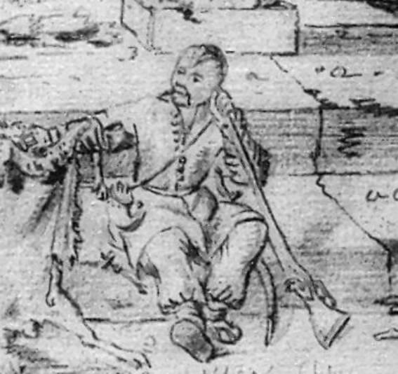 Cossack - opponent of J. Radziwill