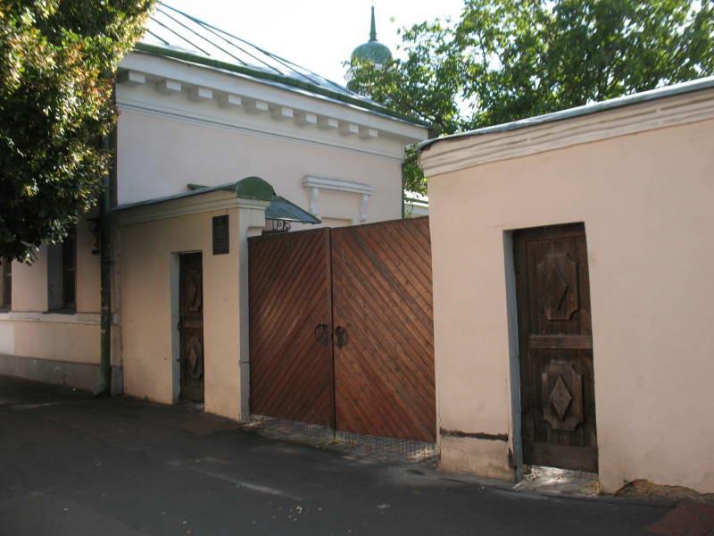 Брама на вул. Притисько-Микільська