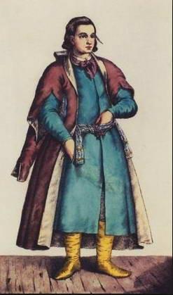 Писар, XVIII ст.