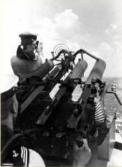 Зенітний кулемет, монітор «Смоленськ»
