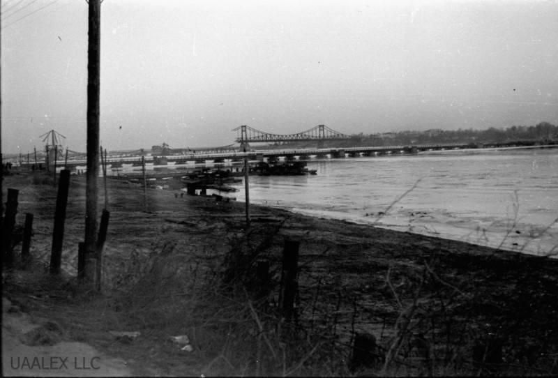 Вид на міст Шарнгорста, осінь 1941 р.