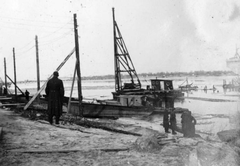 Правий берег Дніпра, осінь 1941 р.