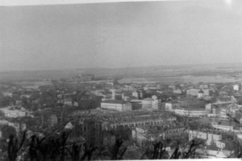 Вид на Поділ, час німецької окупації…