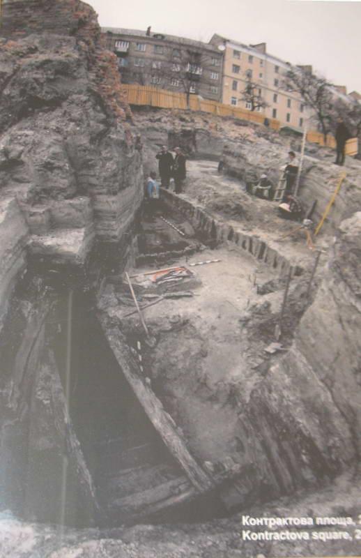 Розкоп на Контрактовій площі