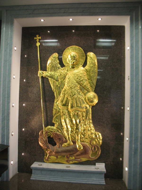 Archangel Michael from medieval Kiev…