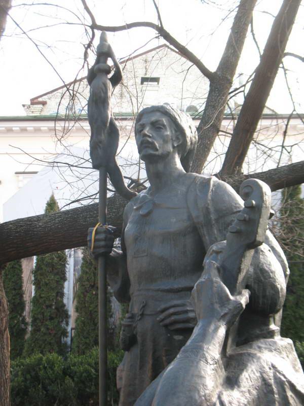 Скульптура запорожцев