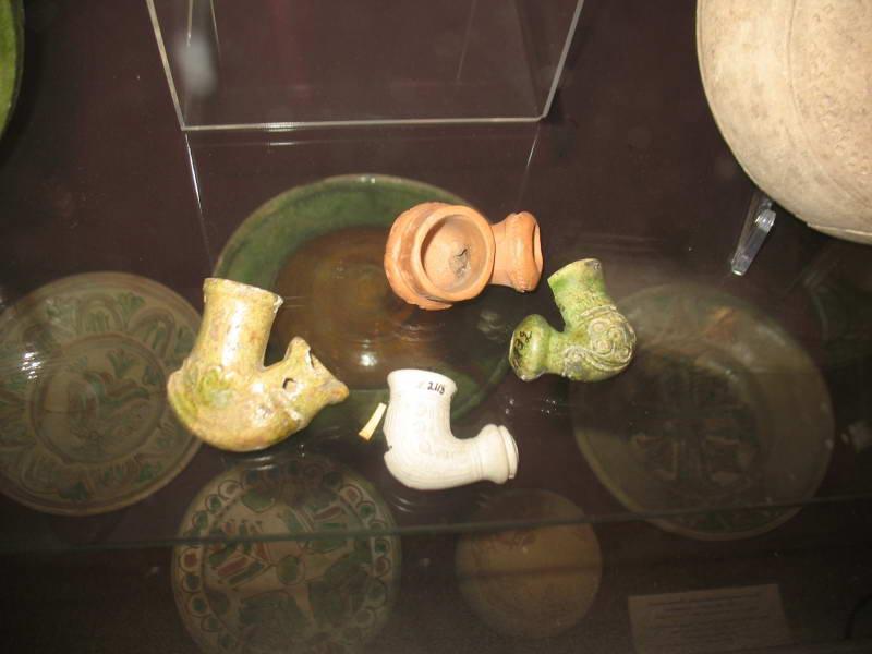 Smoking pipes, ceramic, XVII-XVIII…