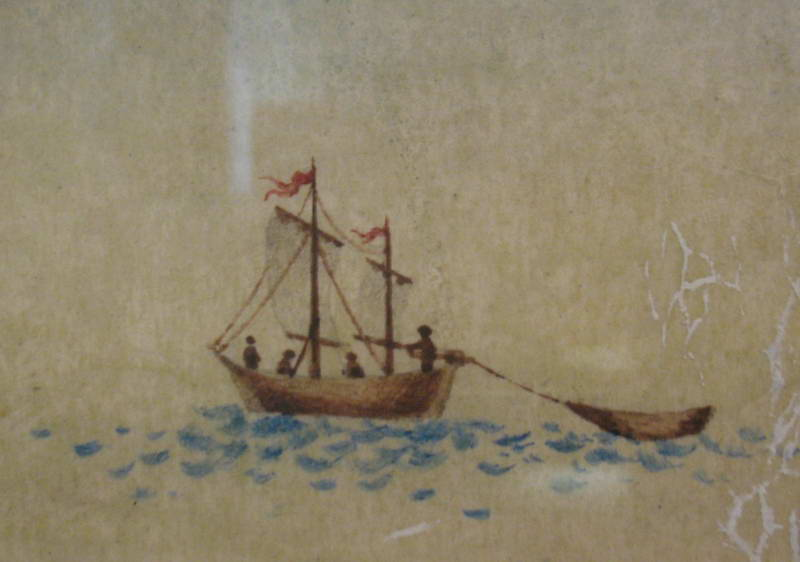 The image on the ship, 1783