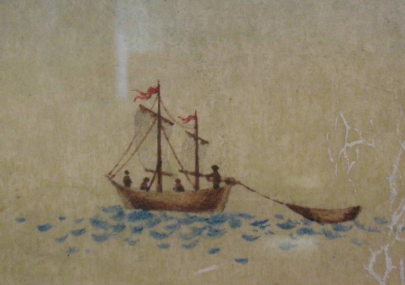 Зображення корабля, Київ, 1783 р.