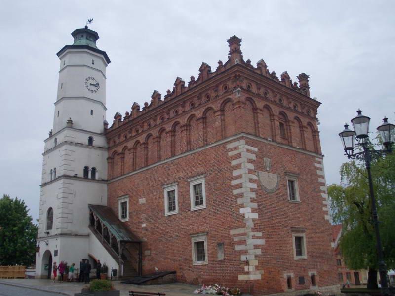 Ратуша в польському місті Сандомирі…