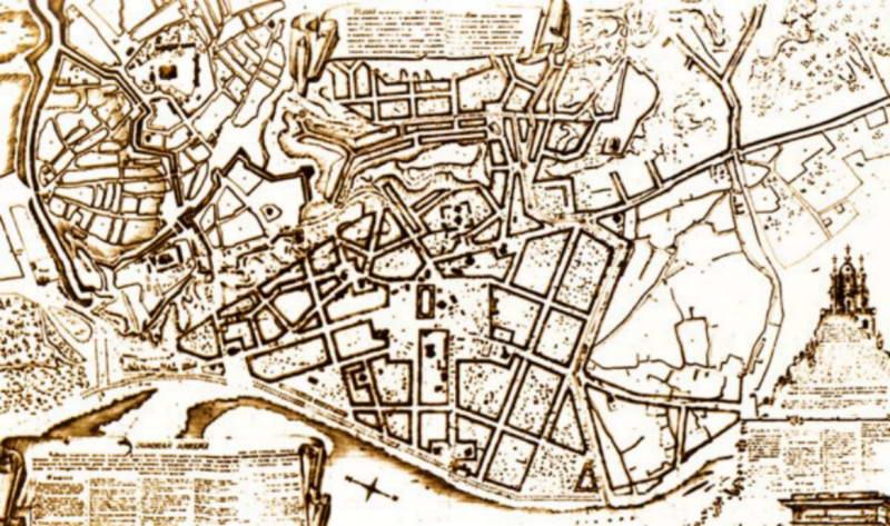 Проект планування Києва, 1811 р.