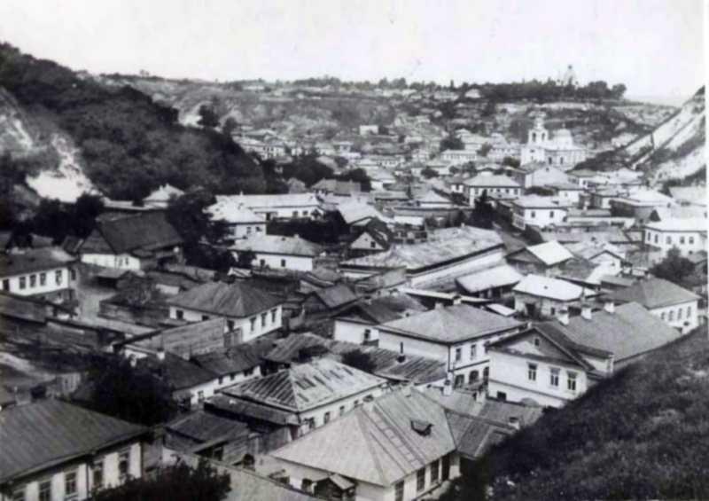 Забудова вулиці Вознесенської на Подолі