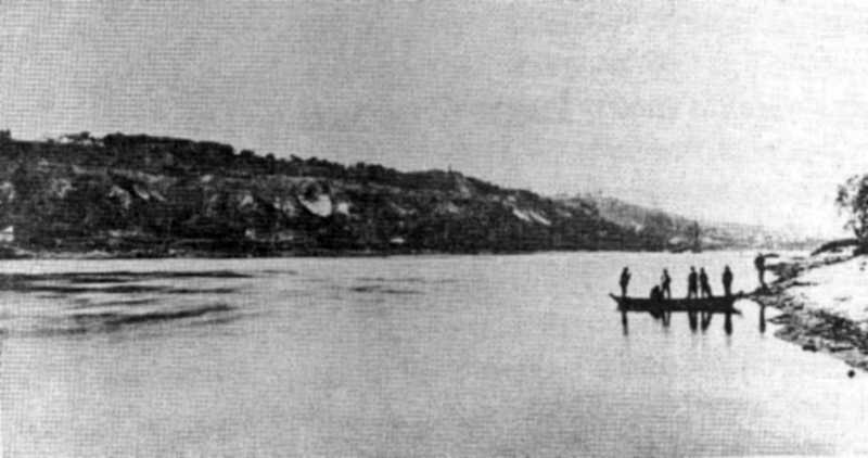 Береги Дніпра, фото 1875 р.