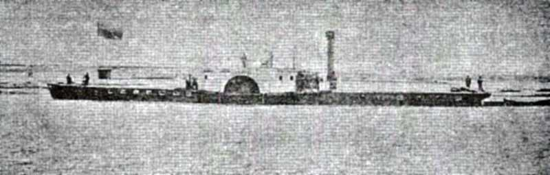 Перший пароплав «Днепр» Першого…