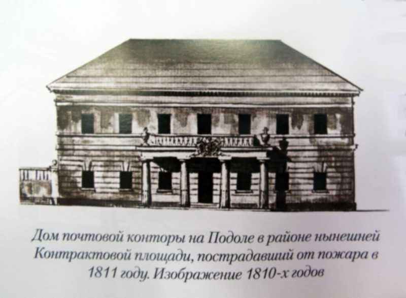 Дім поштової контори на Подолі