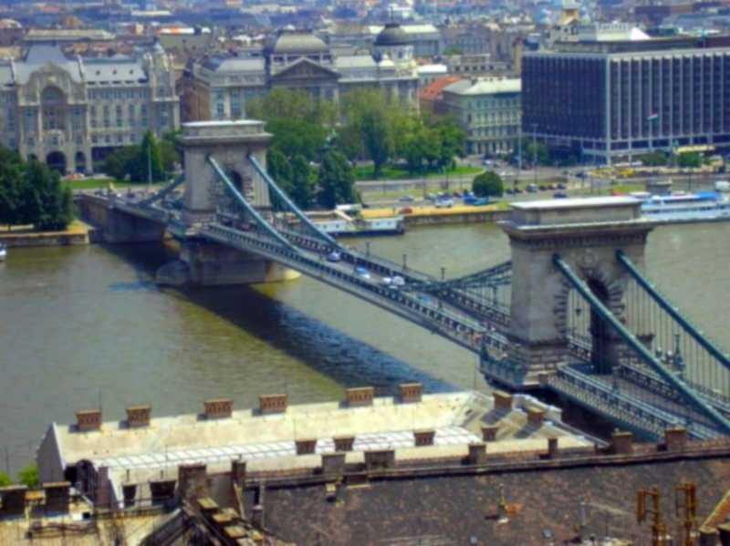 Ланцюговий міст Сечені, Будапешт