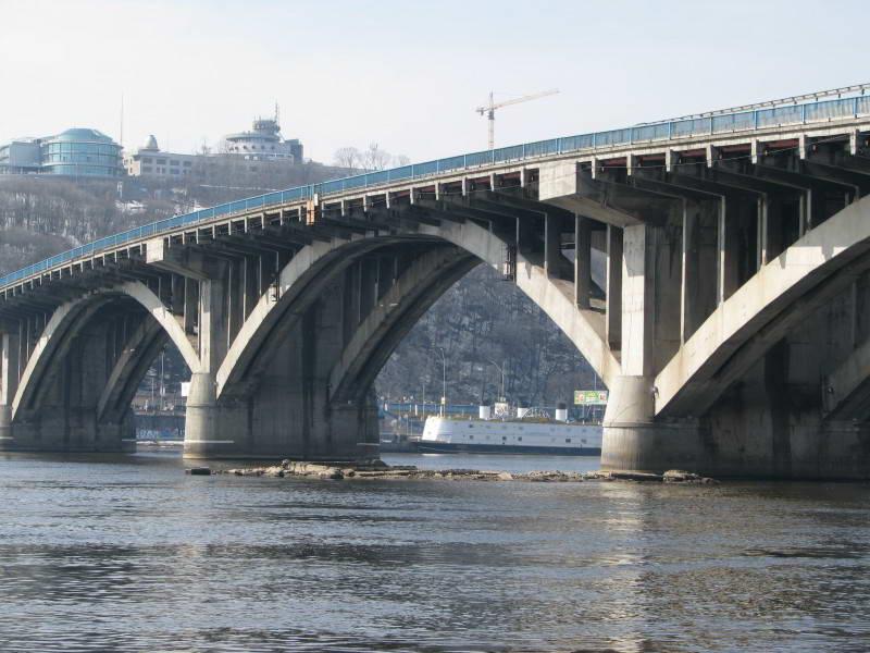 Рештки опори Ланцюгового мосту. Фото…