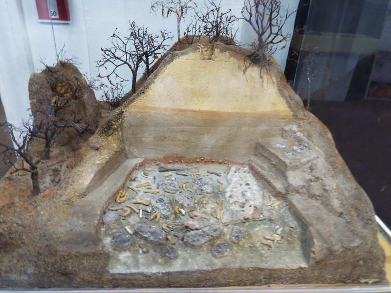 Макет місця розкопок Кирилівської…