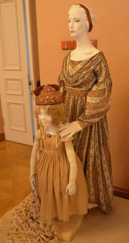 Жіночі костюми 1830-ті рр