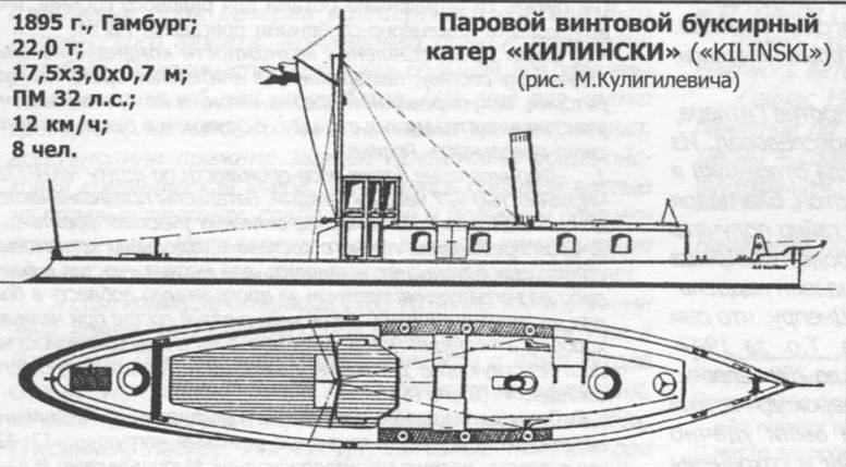 Паровий гвинтовий катер «Кілінський»
