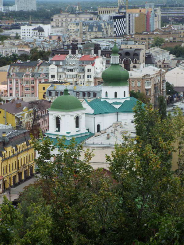 Церква Миколи Притиска, вигляд з…