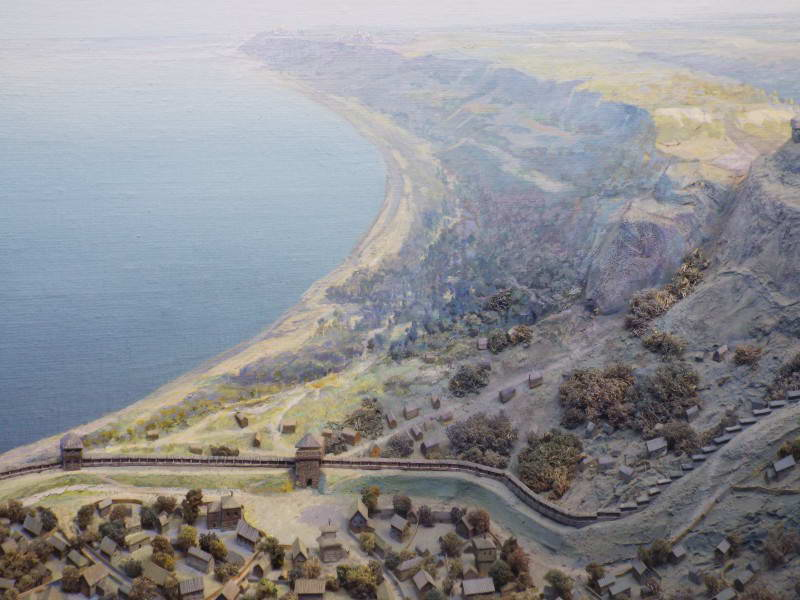 Вид на схил Київського плато на північ…