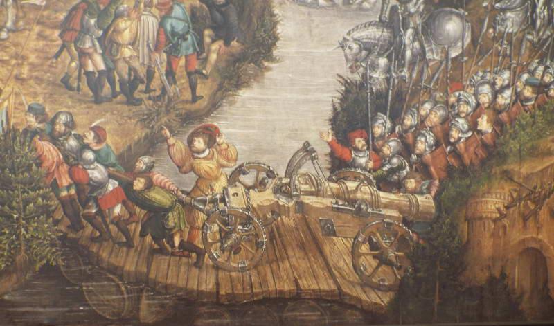 Зображення дерев'яного мосту через річку