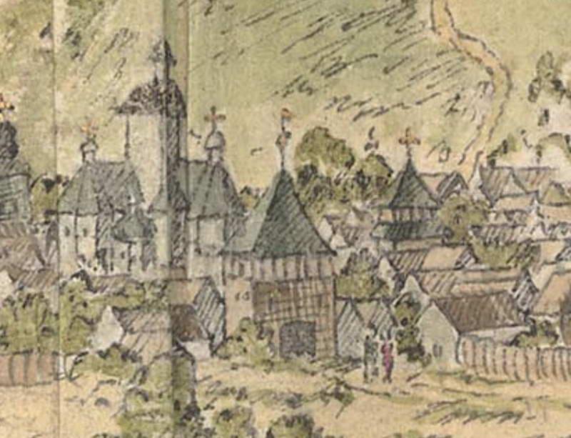 Оборонна вежа на Києвоподолі, 1651 р.