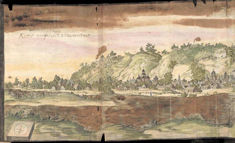 Зображення Києвоподолу, 1651 р.,…