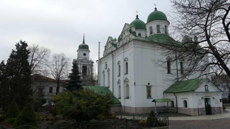 Вид Фролівського монастиря