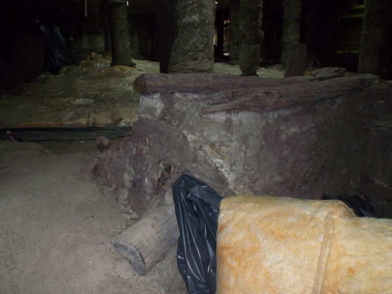 Фрагмент розкопу на Поштовій площі,…