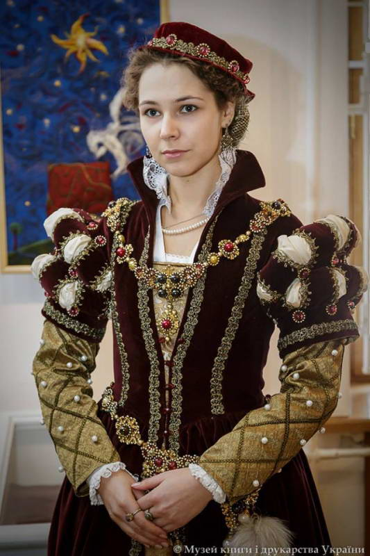 Dress of noble lady XVII c.