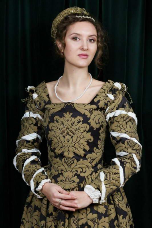 Dress of noble lady XVII c.