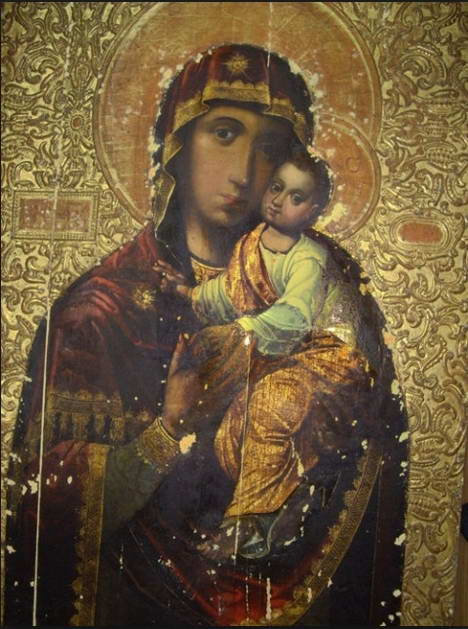 Kyiv brother monastery  Our Lady icon…