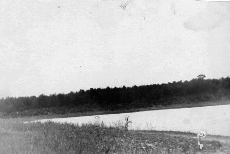 4. Lake Borove in summer 1954