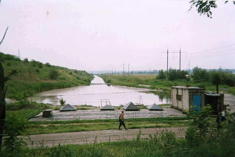 23. Насосная станция Бурштынской ТЭС